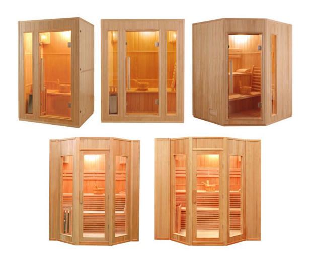 Zen sauna traditionel modeles de cabines