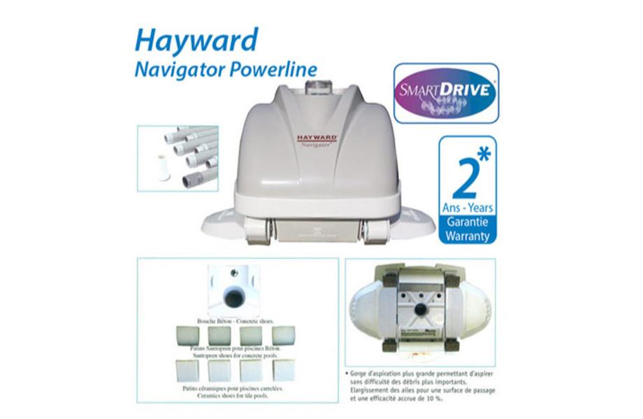 Robot piscine hydraulique Navigator