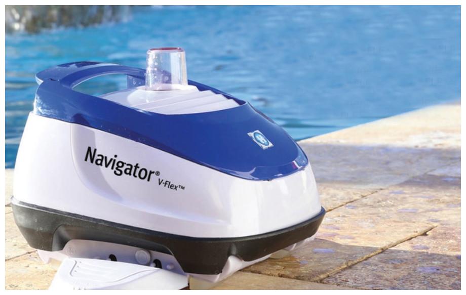 robot de piscine hydraulique navigator v flex hayward