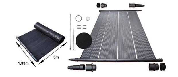 Poolsolar la solution chauffage solaire piscine nergie for Chauffage piscine panneaux solaires