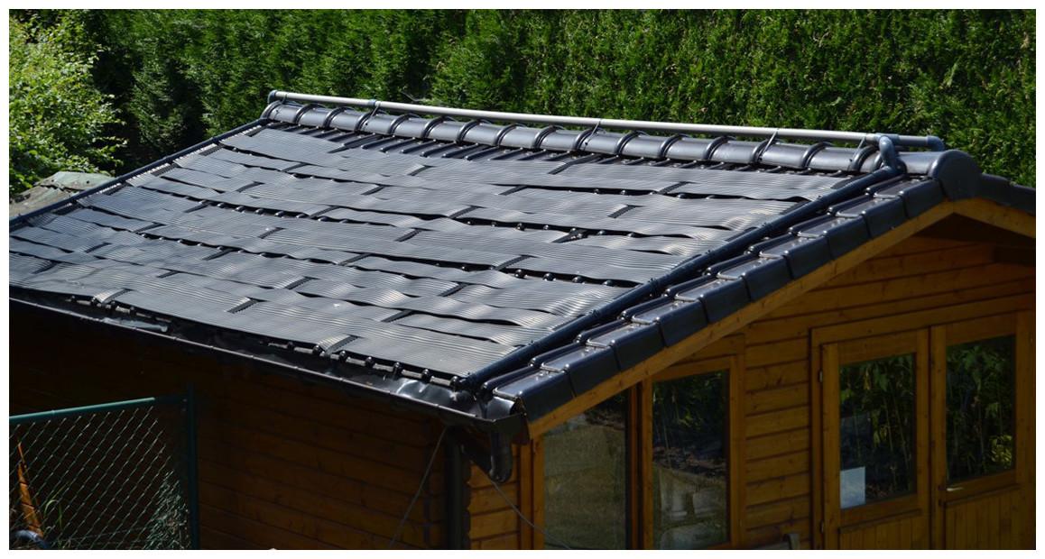 kit panneau solaire Poolsolar en situation