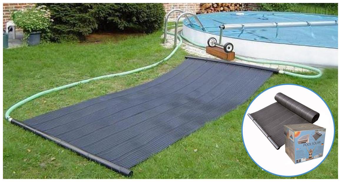 kit de panneaux solaire pour piscine Poolsolar en situation