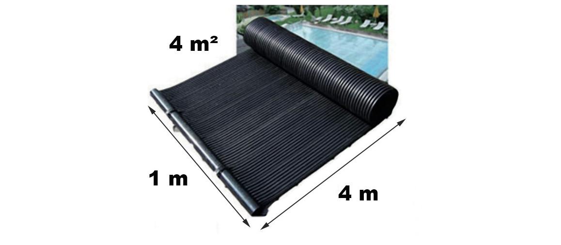composition du kit panneaux solaires poolsolar