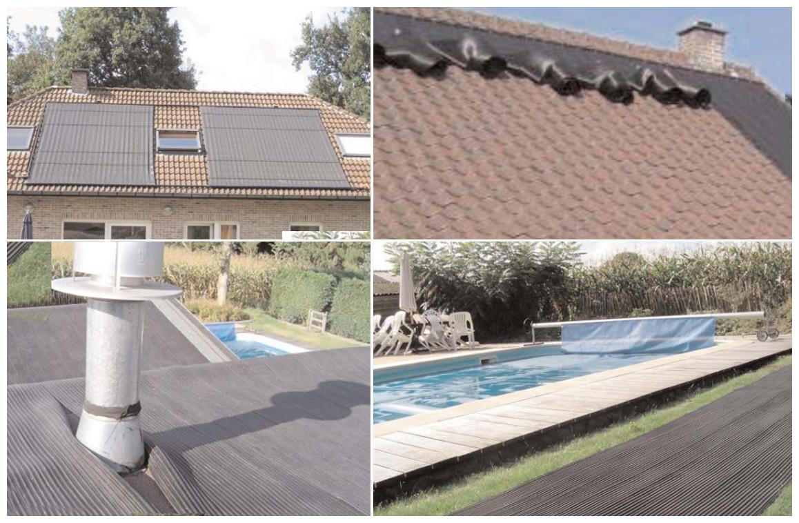 modèle d'installation de panneaux solaire