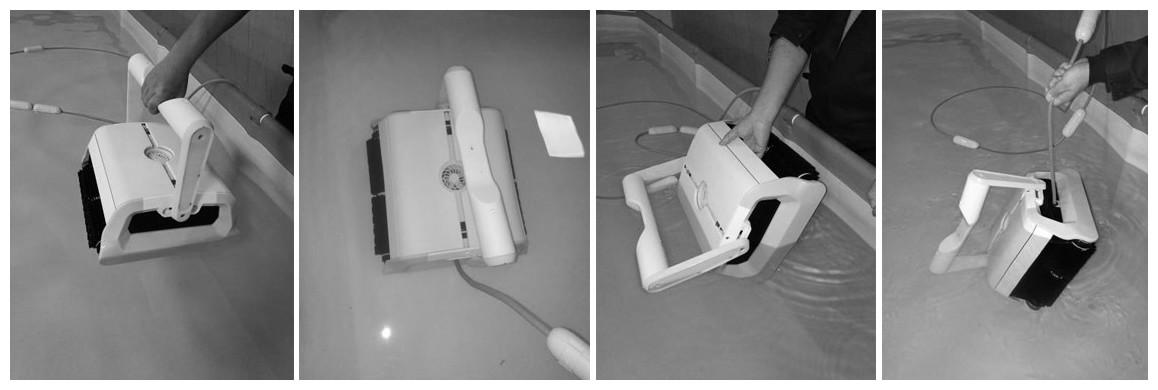 utilisation du robot de piscine Bestway Cleaner