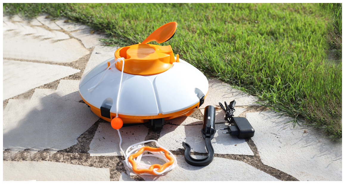accessoires fournis avec le robot de piscine frisbee