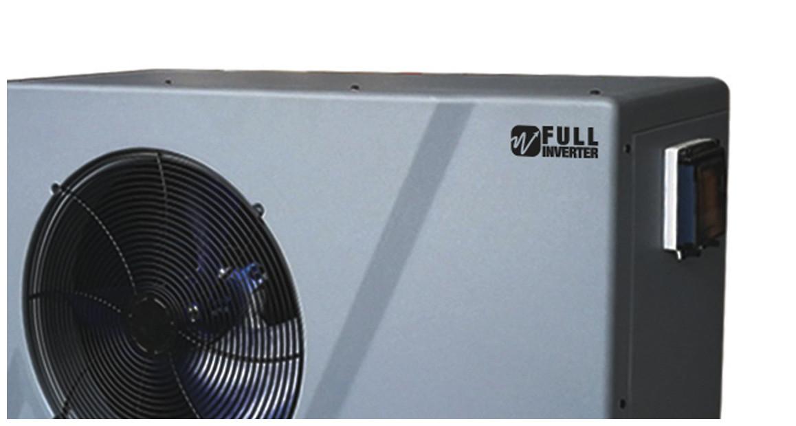 carrosserie en ABS de la pompe à chaleur poolex silverline fi full inveerter