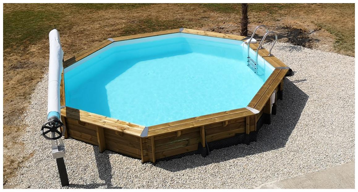 piscine bois woodfirst original Octogonale Ø428 x 117