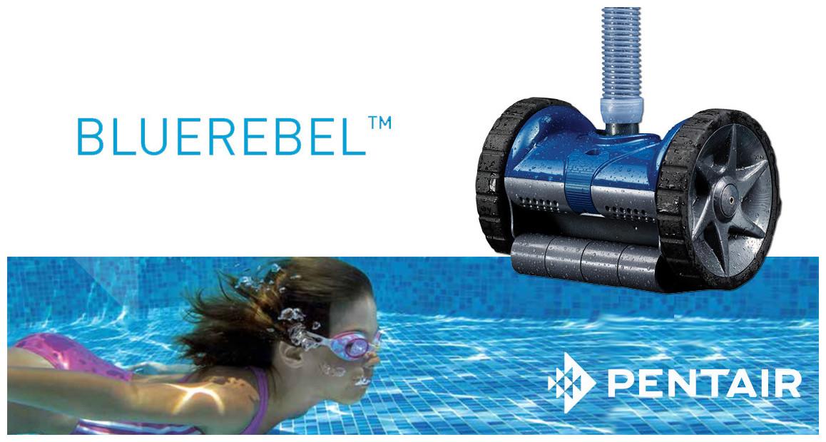robot hydraulique de piscinerebel pentair