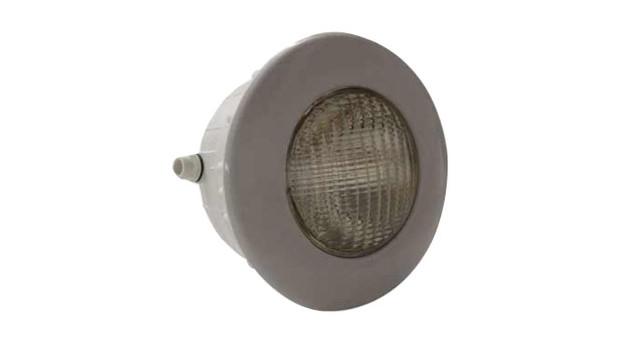 Projecteur gris pour piscine béton et liner