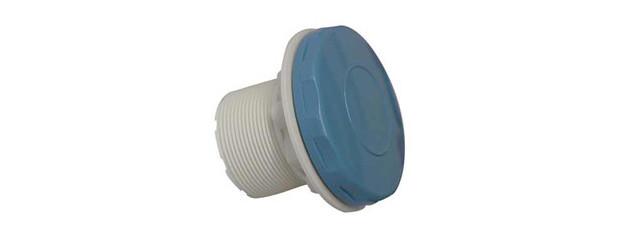 Prise balai bleue pour piscines liner