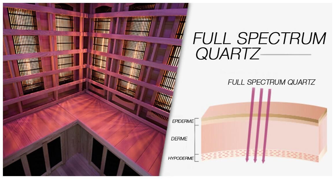 conception full spectrum quartz du sauna poolstar apollon