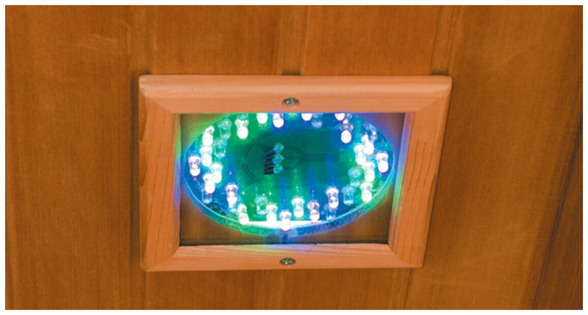 chromothérapie du spa infrarouge france sauna apollon
