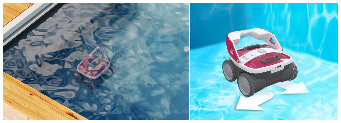 déplacements du robot piscine aqutron bwt B200