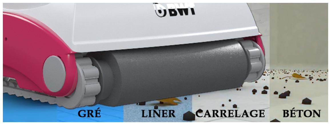 brosse mousse haute densité du robot piscine D100