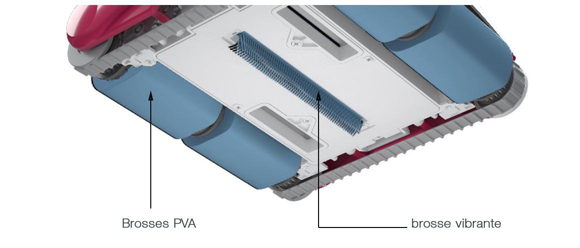 brosse PVA du robot piscine D200 BWT
