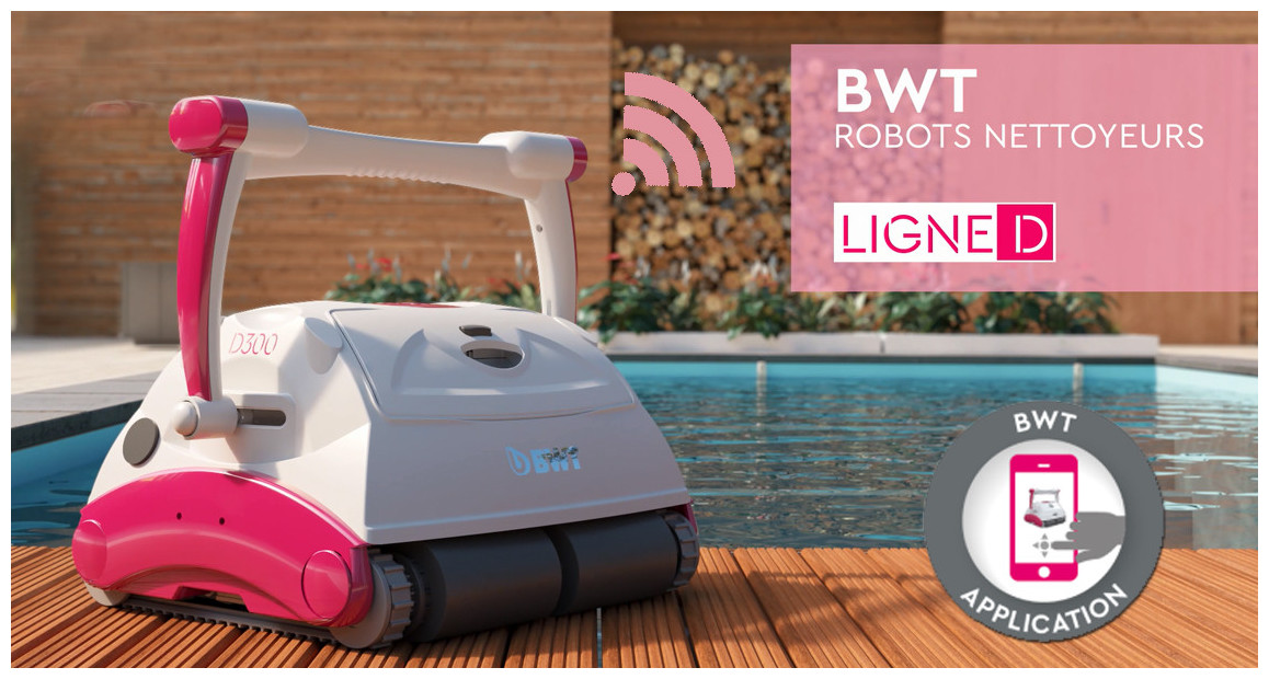 robot piscine D300 BWT connecté