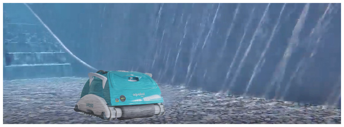 robot piscine UR200 BWT spécial fond