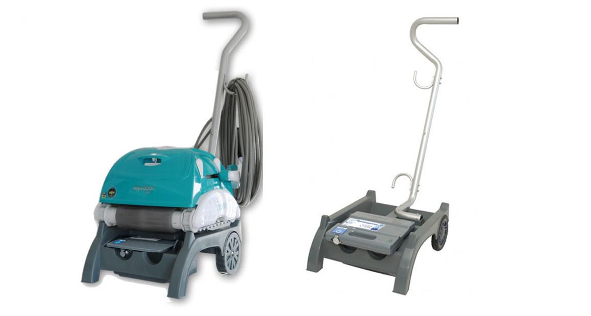 chariot de transport du robot piscine BWT Aquatron UR300