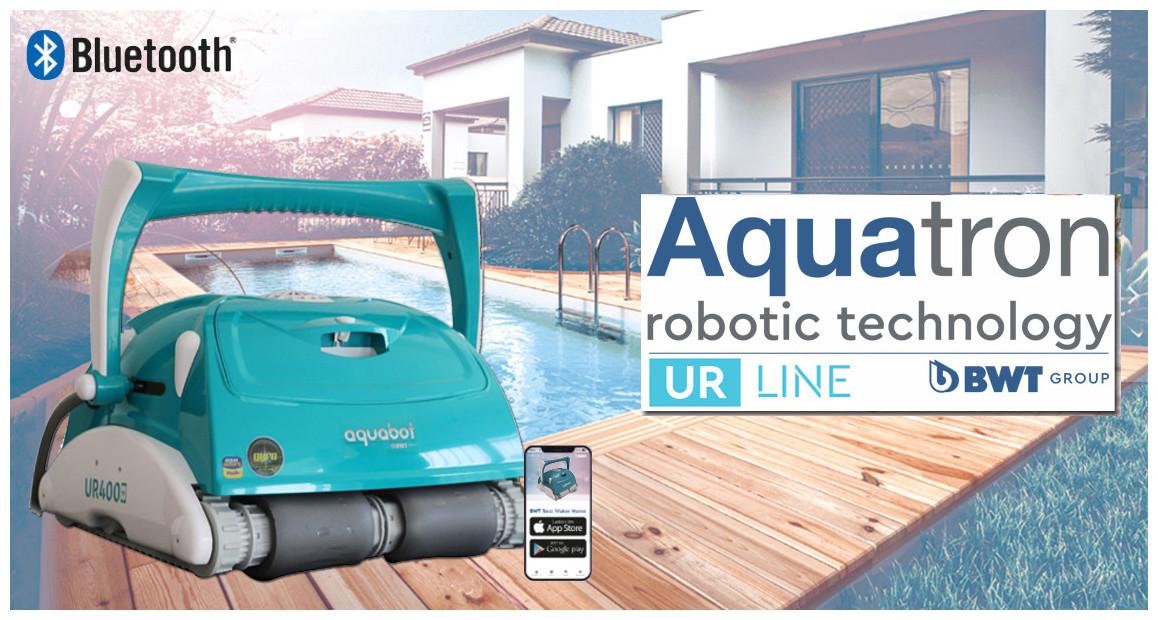 robot nettoyeur de piscine connecté UR400 BWT