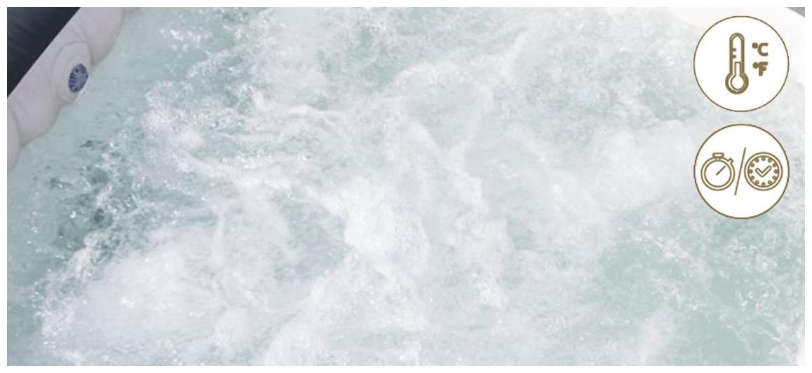 fonctionnement du système de chauffe du spa bestway lay z
