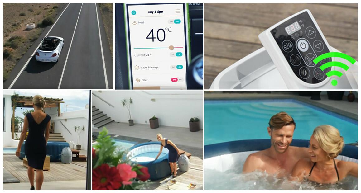 commande wifi du spa bestway lay z