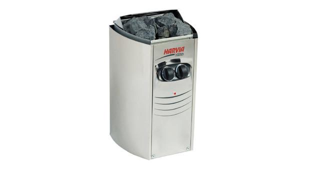 poêle électrique Vega Compact pour petits saunas par Harvia