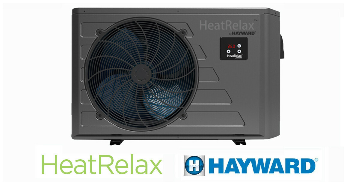 pompe à chaleur heat relax hayward en situation