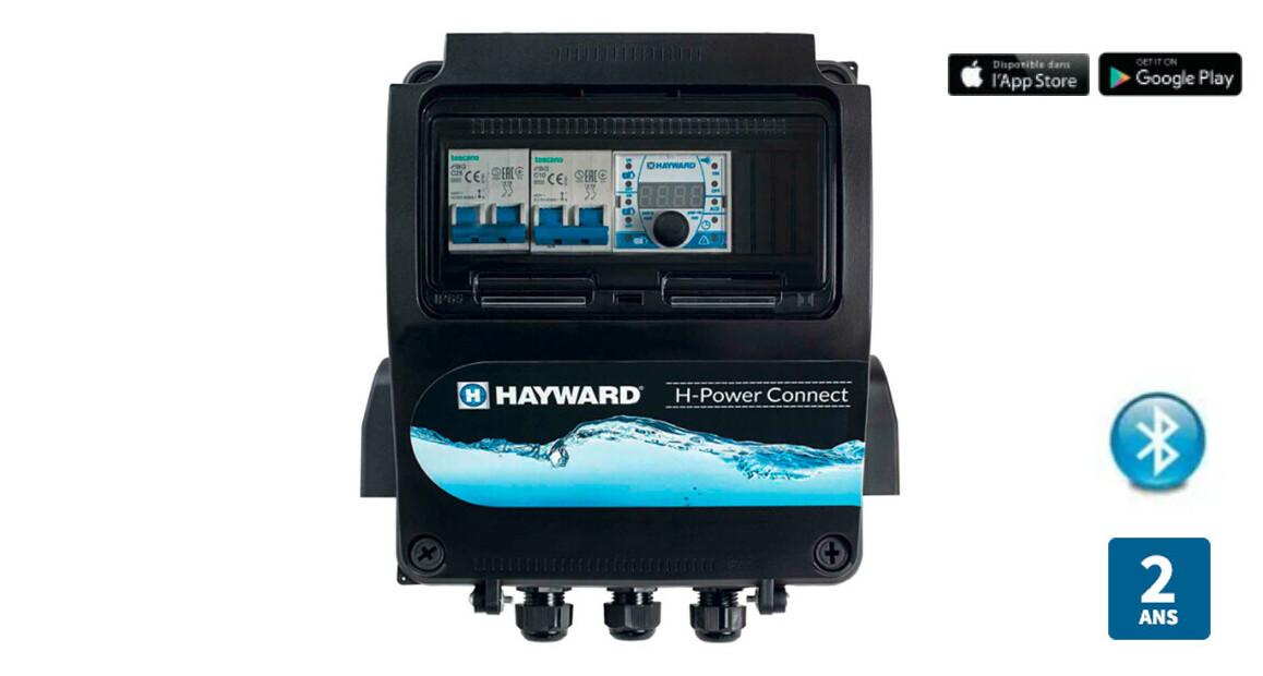 coffret électrique de protection pour pompe de filtration h connect hayward