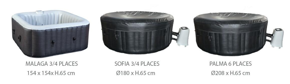 modèle de spas cocooning water