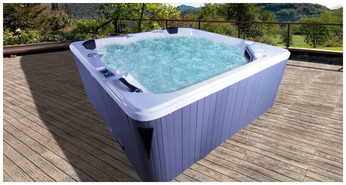 spa rigide 5 places Nola rectangle waterclip