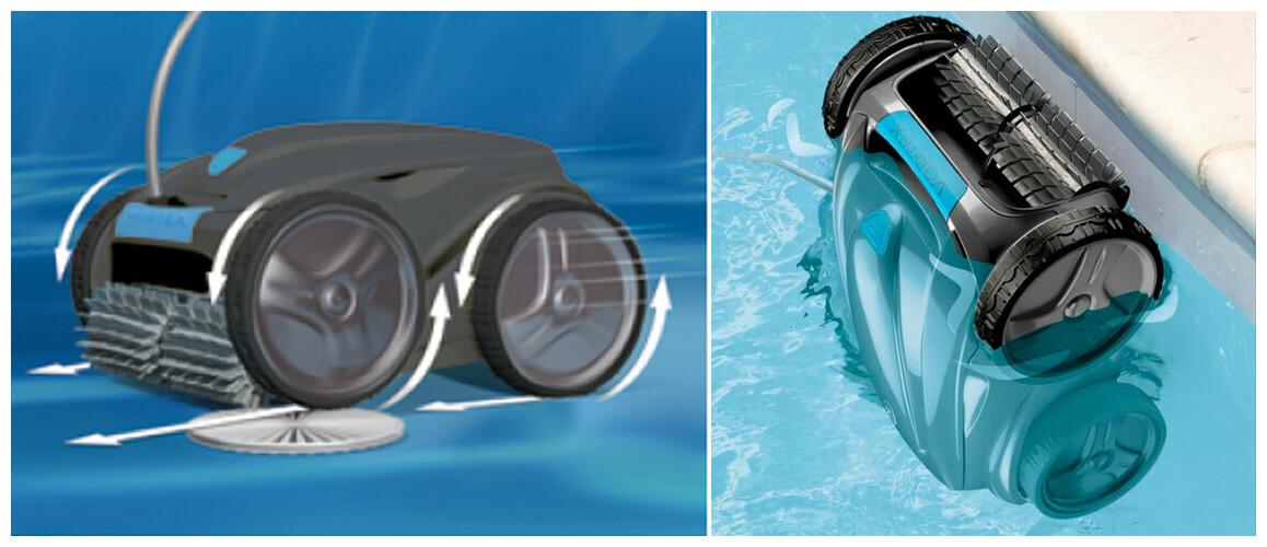 roues motrices du robot électrique de piscine Vortex OV5200