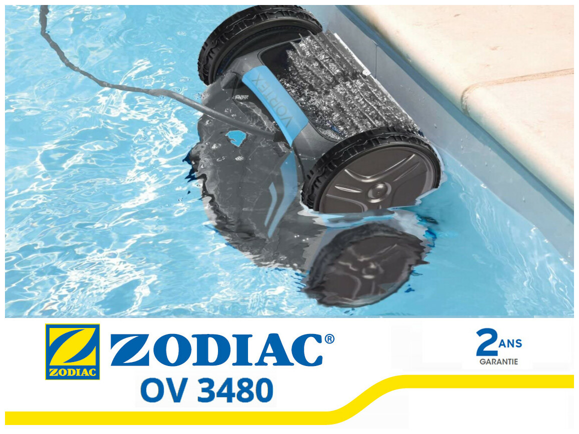 robot électrique de piscine zodiav Vortex ov3480