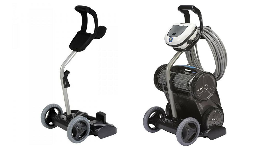 présentation du chariot pour robot piscine zodiac vortex
