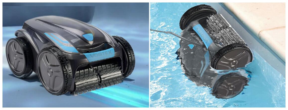 déplacement du robot de piscine zodiac vortex ov3480