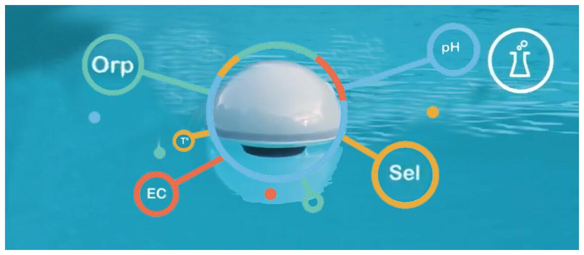 analyse de l'eau de piscine avec l'ofi by ccei