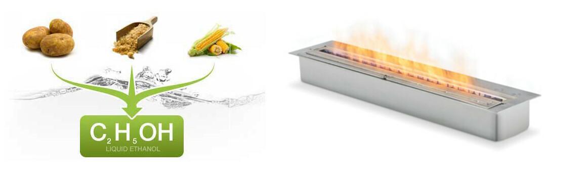 bioéthanol combustible écologique pour cheminée extérieure ecosmart