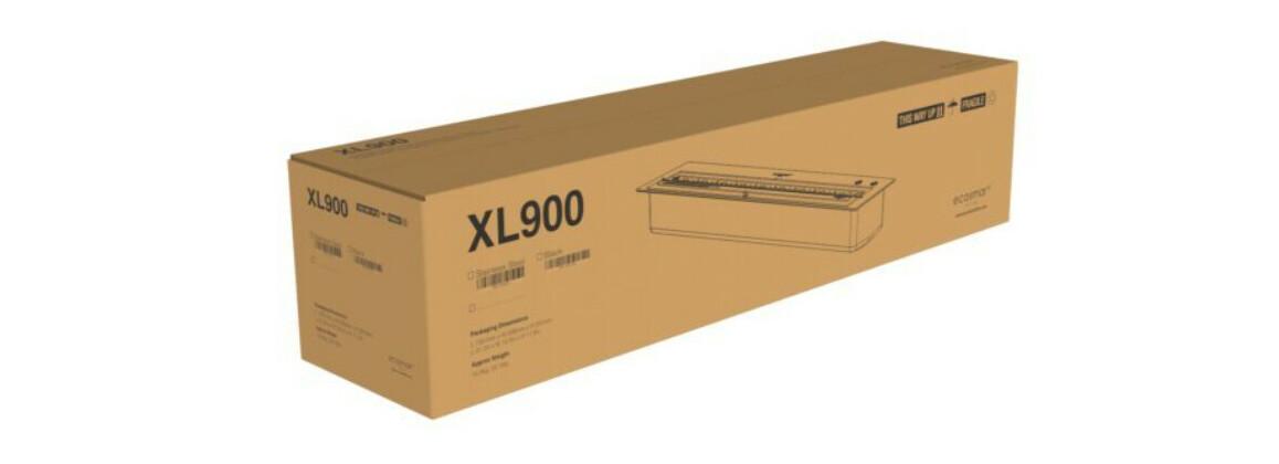 emballage du brûleur à l'éthanol XL900 pour cheminée Cosmo 50
