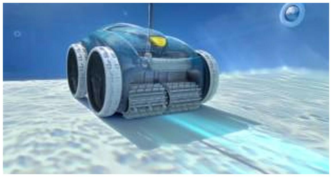 déplacements du robot de piscine zodiac vortex RV4460
