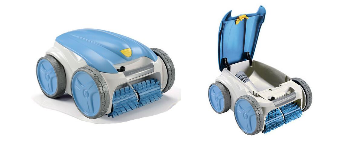 confort d'utilisation du robot de piscine RV4460 par zodiac