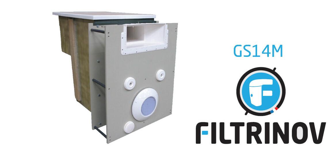 mur filtrant GS14 miroir filtrinov en situation