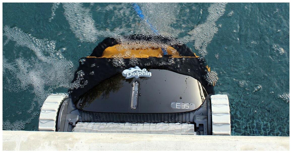 descriptif robot nettoyeur de piscines Dolphin E35