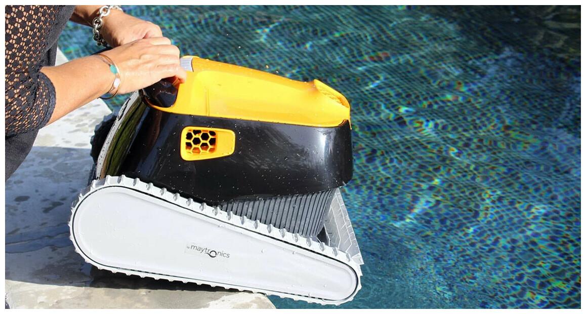 robot nettoyeur de piscine dolphin E35