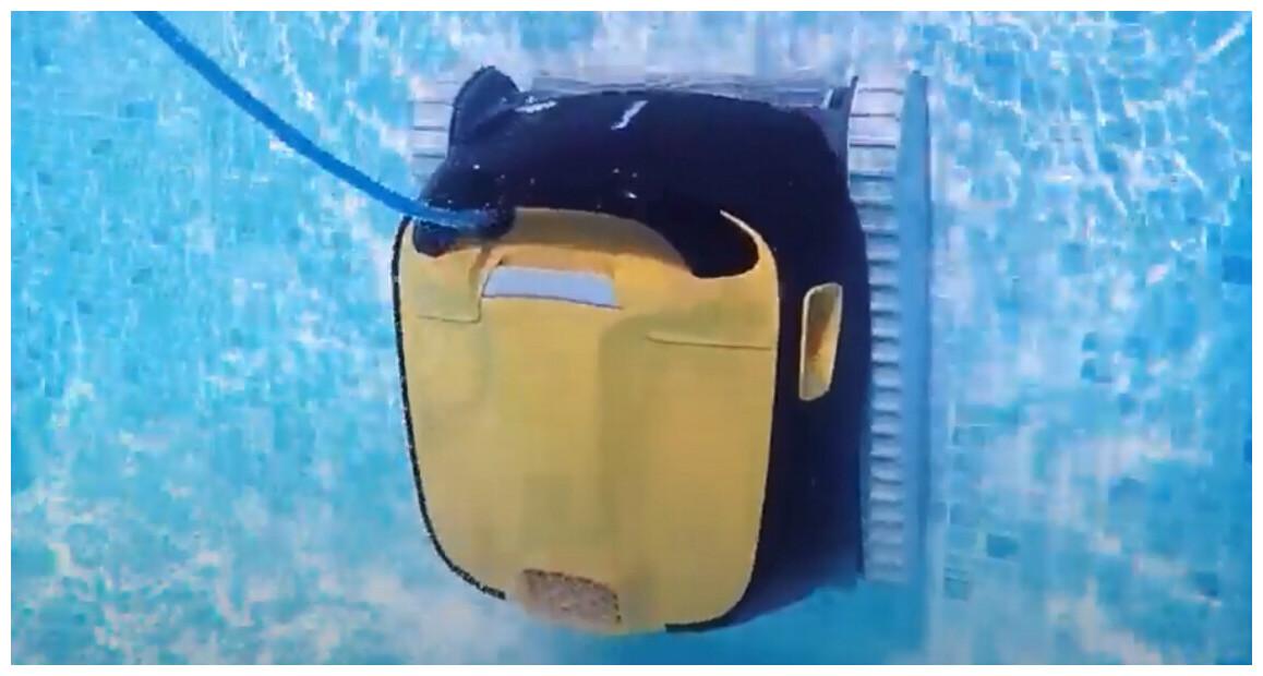 système de navigation power stream du robot piscine Dolphin E35