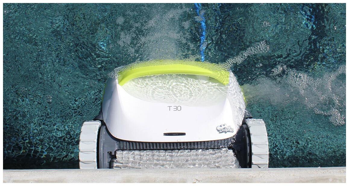 descriptif du robot nettoyeur de fond de piscine Dolphin T30