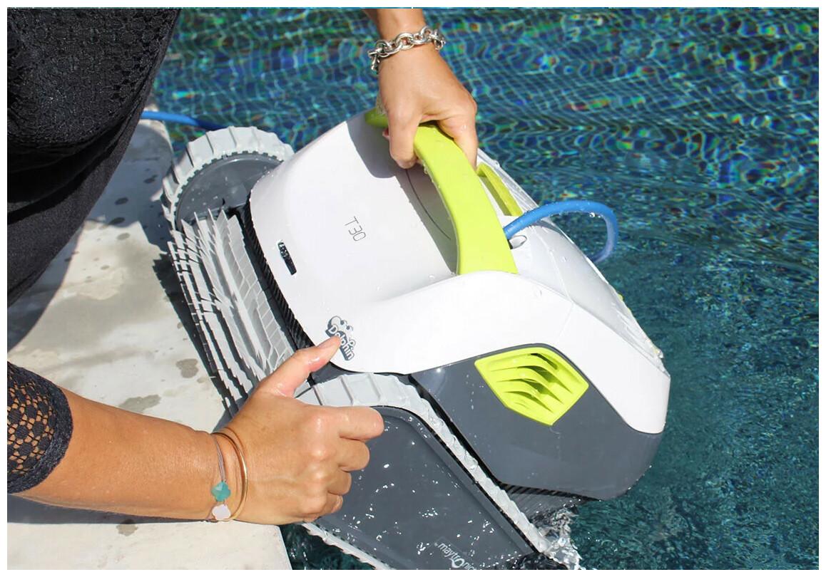 prise en main facilité du robot Dolphin T30