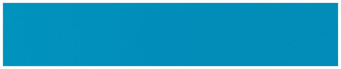 coloris bleu adriatique du liner PVC armé 150 ème poolskin astralpool