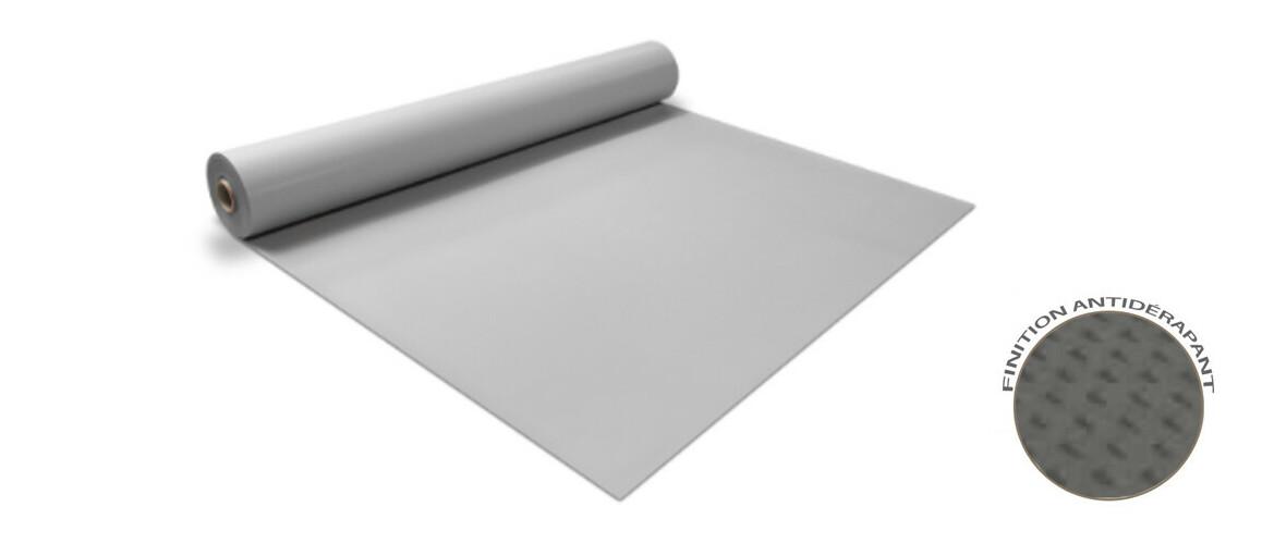 rouleau antidérapant gris clair renolit alkorplan