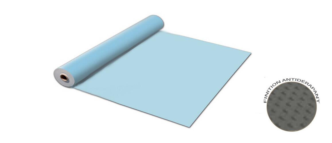 rouleau de liner antidérapant renolit alkorplan bleu clair