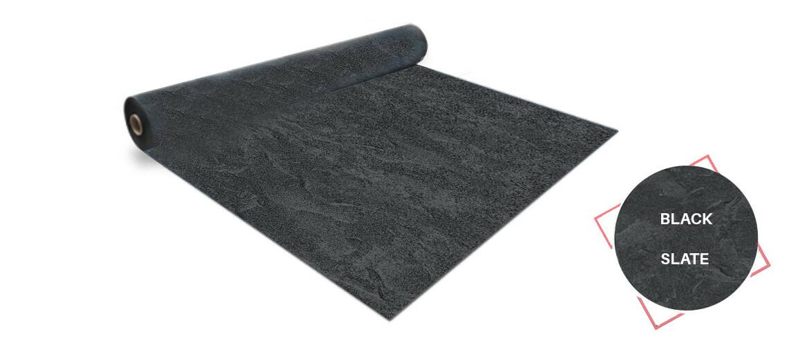rouleau pvc aquasense 160/100 ème black slate